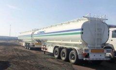CIMC Tri axle oil tanker for s