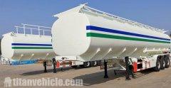 Tri Axle 40CBM Fuel Oil Tanker