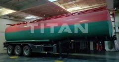 3 axles fuel tanker trailer fr